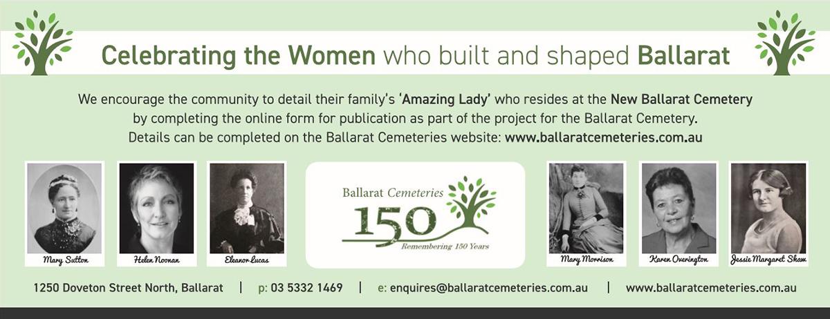 Ballarat 150 Years Flyer